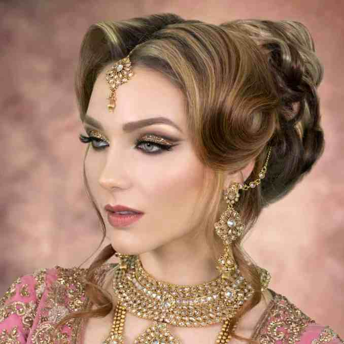 2019 asian wedding hairstyles | london bridal hairstylist