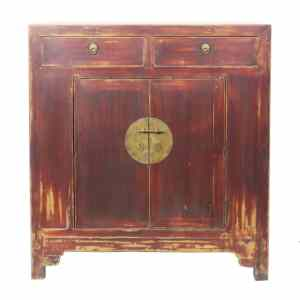 """Antique Asian Small and Medium Cabinets (Chinese Cabinets up to 54"""" Long)"""