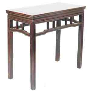 Antique Chinese 36 in long 18 inch deep Hall Console Table