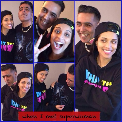Sunny Grewal and Lilly Singh (aka Superwoman) talk movies