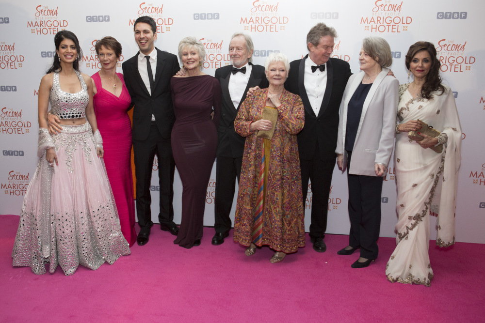 Stars shine at royal film premiere for 'The Second Best