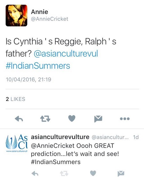 Indian Summers 2016 episode 5 review Plate shattering and