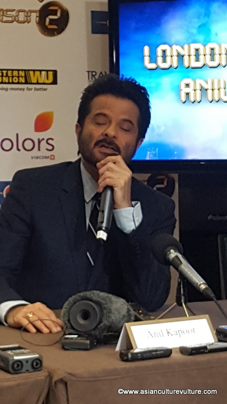 Anil Kapoor London launch of India '24' Series 2 Asian