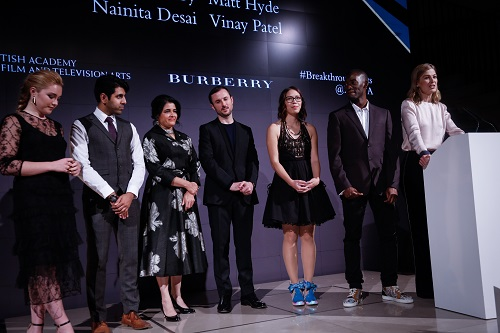 Bafta Breakthrough Brit Vinay Patel: writing the future