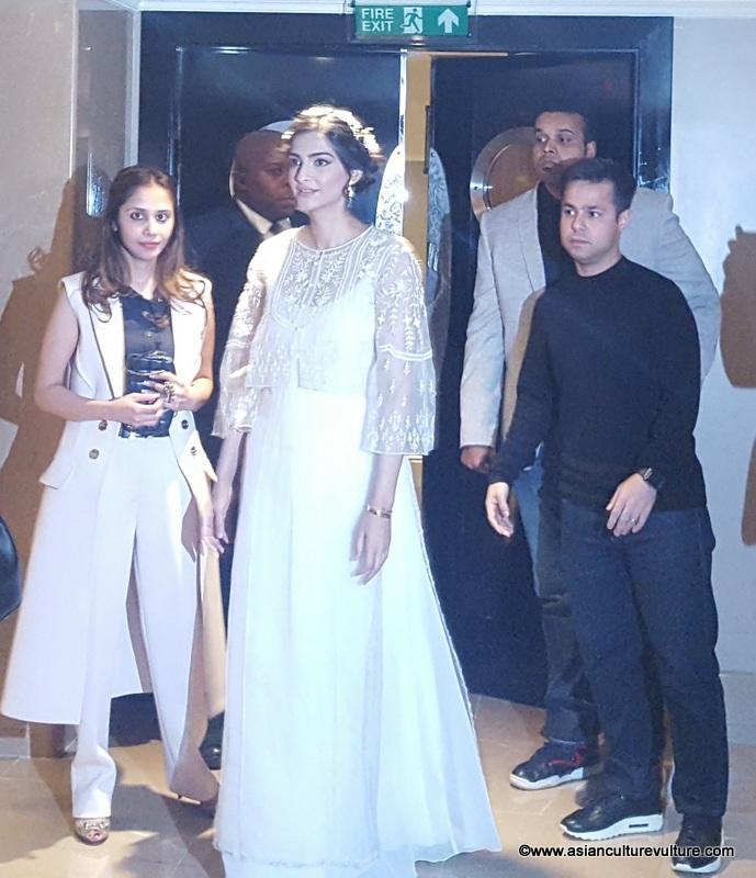 Sonam Kapoor arrives at Divalicious 2017 in London
