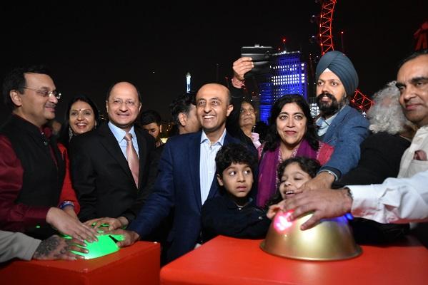 London Eye Diwali