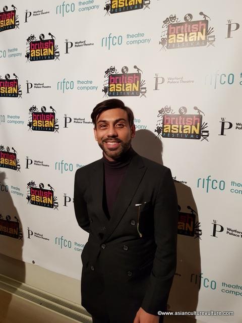 Saran Kohli, designer and dancer...(see Breakin' Convention story)