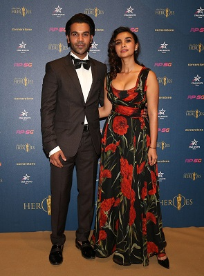 Rajkummar Rao and Patralekhar Paul, Bollywood actors