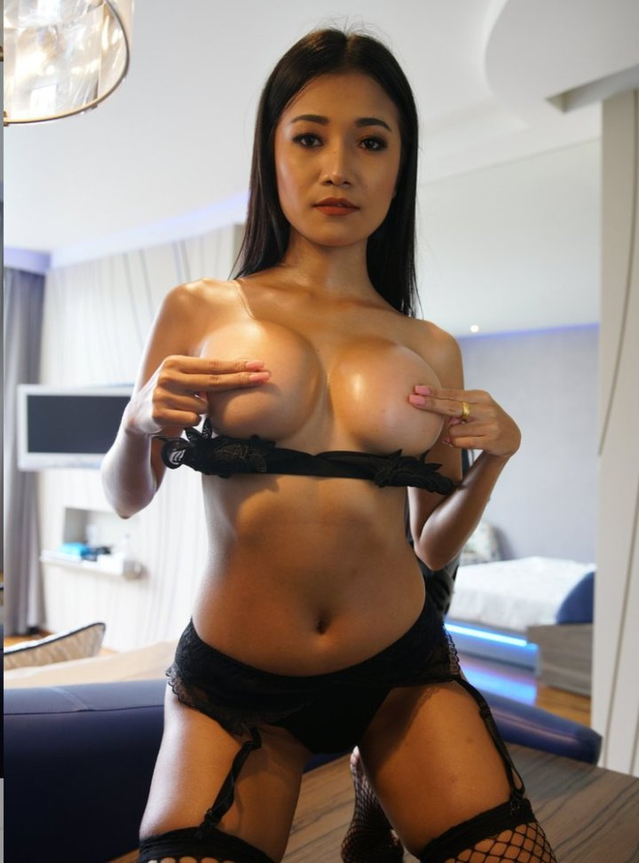 Big tits Thai