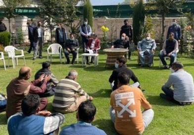 Congress Leader Ghulam Nabi Azad On Two-Day Kashmir Visit