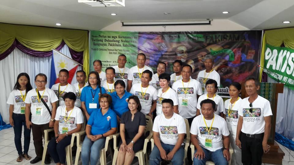PAKISAMA 9th Congress' Delegates from Mindanao, Visayas and Luzon (c) Nonoy Villas