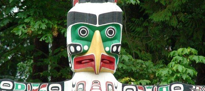 史坦利公園圖騰柱 Totem Poles at Stanley Park