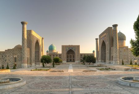 The Registan, Samarkand (Wikipedia)
