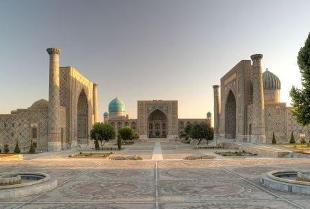 The Registan, Samarkand (Wikipedia)