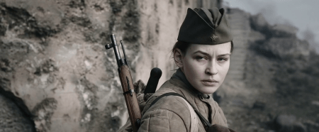Yulia Peresild in Battle for Sevastopol