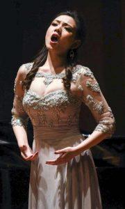 Lei Xu in recital