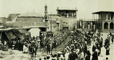 British entry into Baghdad, 1917