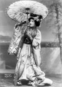 Geraldine Farrar, who sang the first Butterfly at the Metropolitan Opera