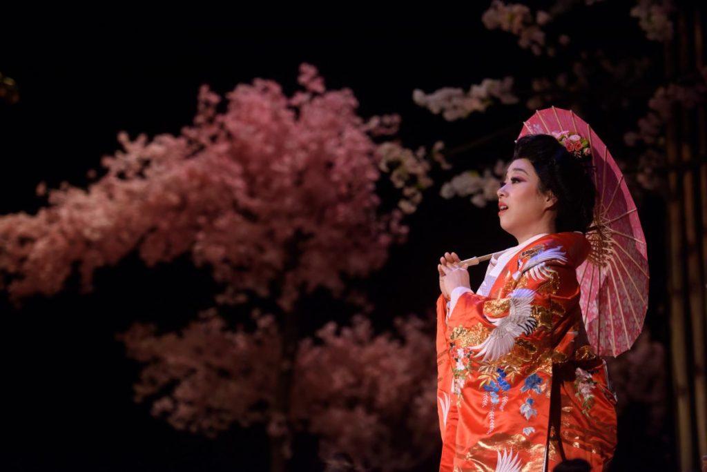 Sylvia Lee Sang-eun as Cio-Cio San
