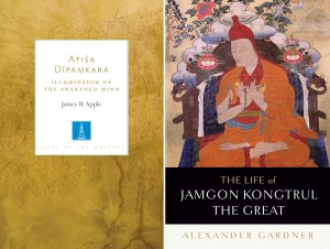 Atiśa Dīpamkara: Illuminator of the Awakening Mind, James B. Apple (Shambhala, July 2019); The Life of Jamgon Kongtrul the Great, Alexander Gardner (Snow Lion, July 2019)