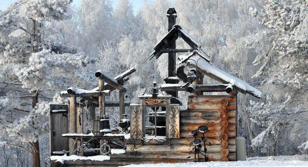 Russia Siberia Winter Frost Snow