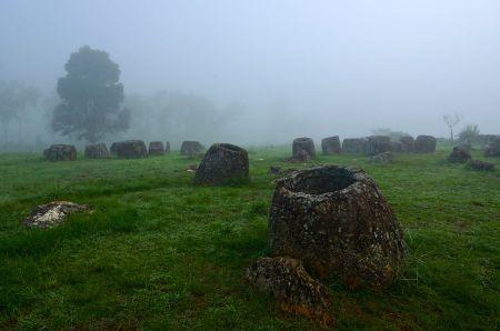 The Plain of Jars (via Wikimedia Commons)