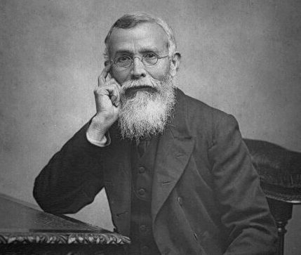 Dadabhai Naoroji in 1892 (via Wikimedia Commons)