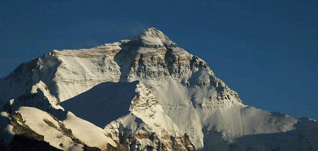 Mount Everest north face from Ronguk monastery in Tibet (Wikimedia Commons)