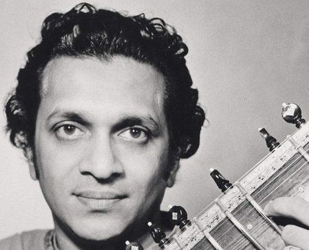 Ravi Shankar, detail from Faber & Faber cover