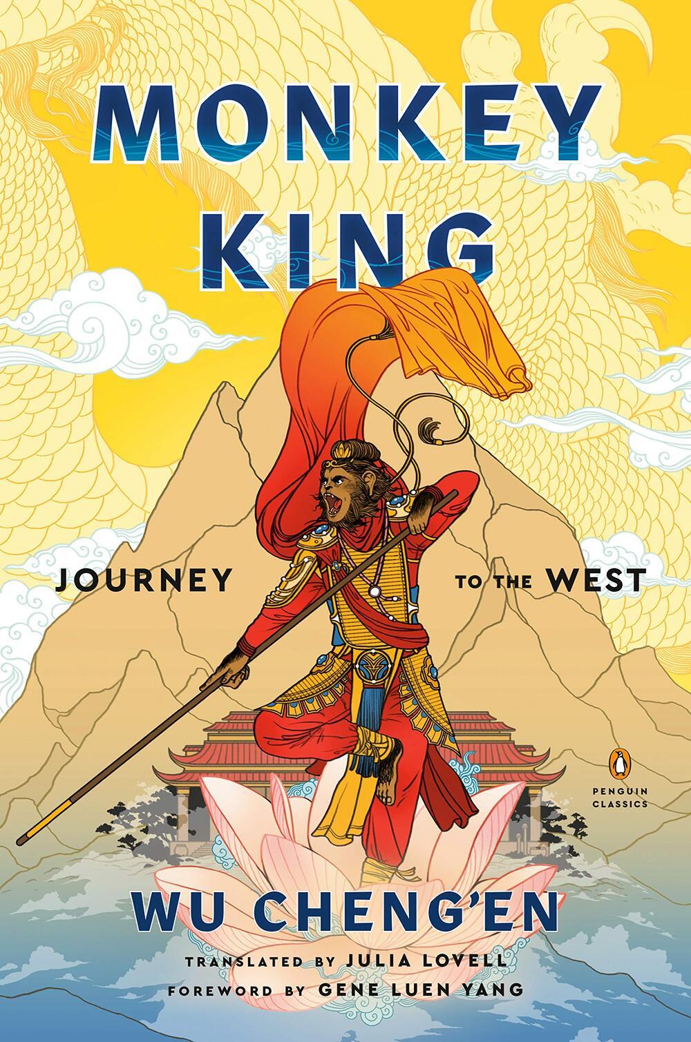 Monkey King: Journey to the West, Wu Cheng'en, Julia Lovell (trans) (Penguin, February 2020)