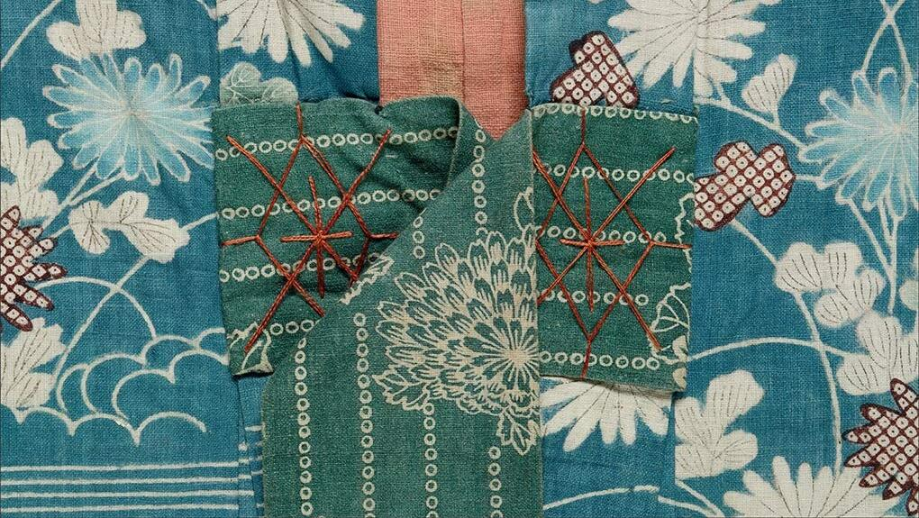 Detail of plate from Japanese Dress in Detail