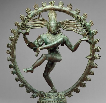 Shiva as Lord of Dance (Nataraja) ca 11th century (Metropolitan Museum of Art)