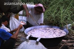 カンボジア プノンペン・朝食