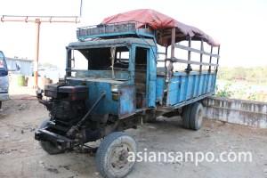 ミャンマー パテインの古い車
