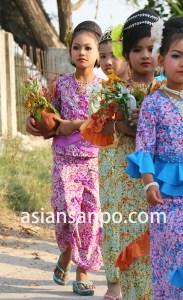 ミャンマー シュエボ