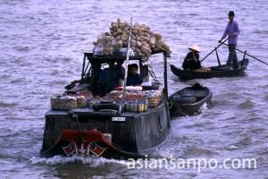 ベトナム フン・ヒエップの船
