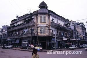 カンボジア プノンペンのオールドマーケット周辺