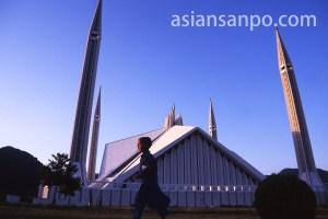 パキスタン イスラマバード・シャーファイサルモスク