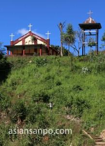 ミャンマー カイン州 教会
