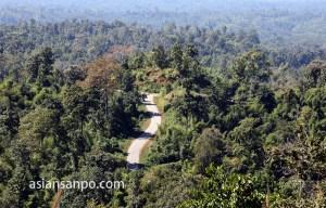 ミャンマー タウングーーカレン村