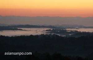 ミャンマー 雲海