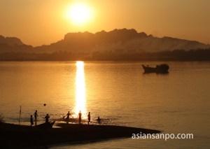 ミャンマー パアン タンルウィン川