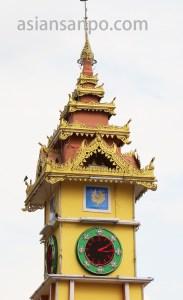 ミャンマー バゴー 時計塔