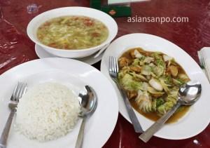ミャンマー バゴー夕食