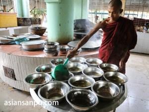 ミャンマー バゴー チャカッワイン僧院