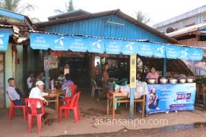 ミャンマー 東西回廊 食堂