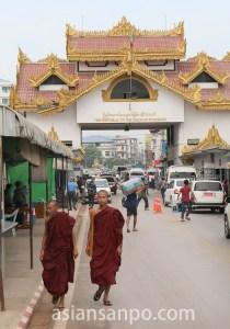 ミャンマー ミヤワディ タイ国境
