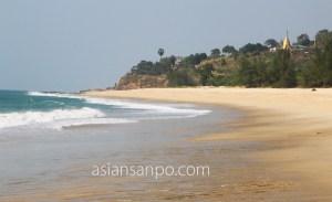 ミャンマー ナブラビーチ
