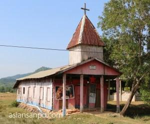 ミャンマー タニンダーリーダウェイ 教会