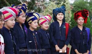 ミャンマー モーラミャイン カレン族正月 パオ族